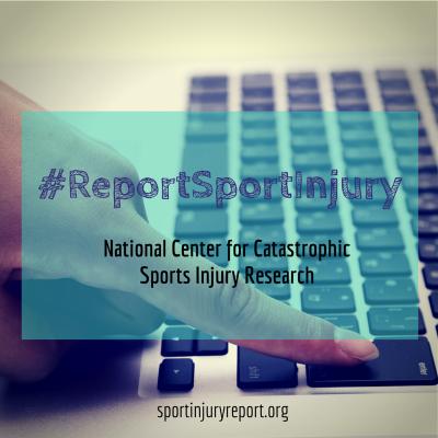 #ReportSportInjury