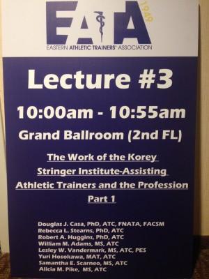 Lecture #3 EATA 2016